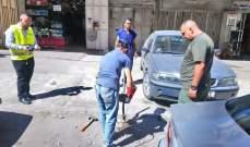 النشرة: شرطة بلدية طرابلس واصلت حملة ازالة المخالفات