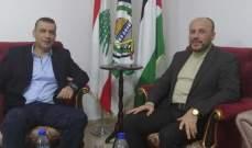 ممثل حركة حماس استقبل وفداً من حركة فتح_التيار الإصلاحي