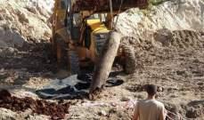النشرة: العثور على صاروخ قديم خلال عمليات الحفر في قلعة الشقيف