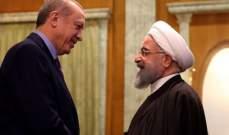 روحاني يهنئ أردوغان بنجاح الإنتخابات البلدية في تركيا