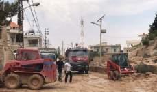 السيول غمرت الاراضي الزراعية في عكار