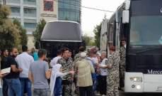 مركز استقبال وتوزيع اللاجئين: عودة 93 سوريا لديارهم من لبنان يوم أمس