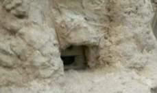 أجهزة الأمن في غزة تكتشف كاميرا تجسس اسرائيلية على شكل صخرة