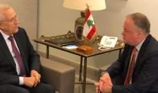 سليمان التقى قائد اليونيفيل: لمتابعة روما 2 والحفاظ على ال1701