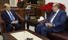الرئيس عون استقبل عبود وسفير لبنان المعيّن في نيجيريا
