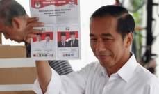 أ.ف.ب: الرئيس الاندونيسي المنتهية ولايته يتجه للفوز في الانتخابات