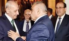برِّي يلتقي السيستاني وعبد المهدي: مصالحة إيران والسعودية.. ومواجهة إسرائيل