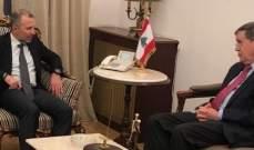 OTV: التباحث مستمر وساترفيلد قد يعود الى لبنان