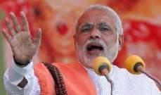 رئيس الوزراء الهندي: سنقف كالصخرة في وجه هجوم الأعداء