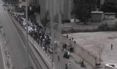 إنطلاق مسيرة نسائية بمناسبة يوم المرأة من أمام جسر العدلية باتجاه البسطة