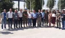 قائد القطاع الشرقي باليونيفيل: نتطلع الى اليوم الذي يحل فيه السلام الشامل في لبنان