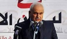 عسيران: زيارة الغريب الى سوريامطلوبة للتنسيق بما يخص النازحين