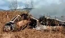 """تحطم طائرة """"ميراج"""" تابعة لسلاح الجو المغربي"""