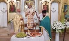 المطران درويش ترأس قداساً احتفالياً بمناسبة عيد التجلي في كنيسة مار الياس