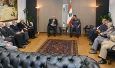 اللواء عثمان بحث مع رئيس رابطة قدامى القوات المسلحة الأوضاع الأمنية
