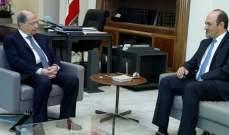 الرئيس عون عرض مع سفيري لبنان في تركيا والمغرب اوضاع السفارتين