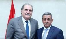 جريصاتي بحث مع السفير اليمني العلاقات الثنائية والاوضاع في المنطقة