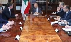 الرئيس عون: لبنان نجح في مواجهة التحديات الامنية والارهاب بفضل كفاءة الجيش