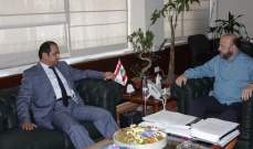 الرياشي التقى سفير الامارات وعرض معه التطورات المحلية والإقليمية