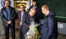 تدشين مشروع معمل لفرز النفايات في بلدة حاصبيا