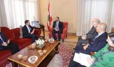 الحريري عرض مع هيل آخر المستجدات السياسية في لبنان والمنطقة