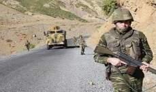 مقتل جنديين تركيين في مهمة قتالية بسبب سوء الأحوال الجوية