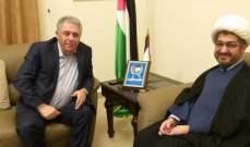 النابلسي: المقاومة هي عنوان كل المراحل في فلسطين