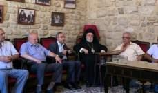 المطران كفوري: موقف الكنسية الأرثوذكسية ثابت من القضية الفلسطينية