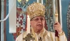 المطران درويش في قداس الميلاد: يبقى يسوع الرجاء في وسط الازمات