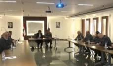 الوزيرة الحسن اجتمعت باللواء عثمان وعدد من كبار الضباط