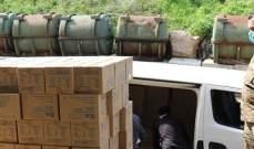 الجيش تسلم ١٧٠٠٠ كمامة و١٢٠٠٠٠ زوج قفاز مقدمة كهبة من السفارة الأميركية