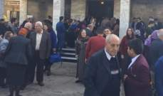 احياء قداس الميلاد في البصرة دون احتفال تضامنا مع ذوي ضحايا التظاهرات