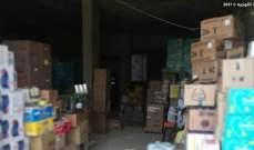 الجيش: دهم مخازن وسوبرماركت بمجدل عنجر وضبط مواد غذائية معدة للتهريب الى سوريا