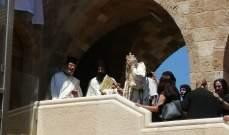 """المطران كرياكوس ترأس قداس احتفاليا بمناسبة اعادة افتتاح دير """"سيدة الناطور"""" بانفه"""