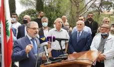 الحسنية: لتشكيل حكومة إنقاذ تضع حداً لهذا الانهيار الخطير وتسارع بالإصلاح