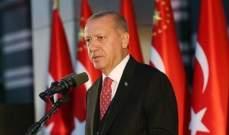 اردوغان: لا نطمع بشبر من أراضي أي دولة ولا نتهاون بحماية نفسنا من التهديدات