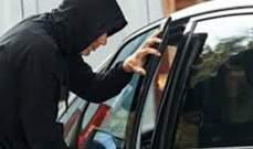 سرقة سيارة من محلة رأس العين في بعلبك