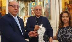 الجامعة اللبنانية الثقافية في العالم تكرّم المطران درويش