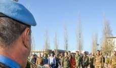 الكتيبة الإيطالبية تقدم هبة طبية لمستشفى تبنين الحكومي
