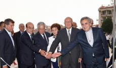 """جبرا افتتح مبنى رياض نصار في """"LAU"""" تقديراً لعطاءاته"""