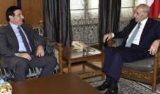 بري استقبل وزيرة العمل وعرض الاوضاع العامة مع وزير الاشغال
