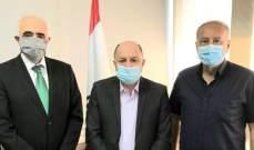 الأسمر والقصيفي: للإسراع بتشكيل الحكومة والشروع فورا بالإصلاحات ورفض رفع الدعم عن السلع الأساسية