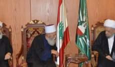 نعيم حسن بعد لقاء الشيخ قبلان: الوحدة الوطنية هي الضمانة لصد اي عدوان