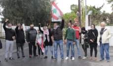 اعتصام في صور احتجاجا على استدعاء بعض الناشطين للتحقيق