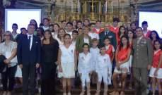 اولاد شهداء الجيش اللبناني وقوى الأمن الداخلي قدموا ريسيتالا في إيطاليا