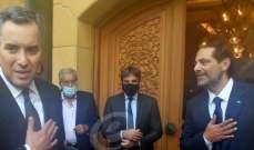 مصادر الشرق الاوسط: الحريري يخطط لإنقاذ المبادرة الفرنسية ويحمّل الثنائي الشيعي مسؤولية فشلها