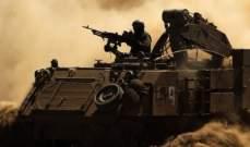 الجيش الاسرائيلي يقصف مواقع لحماس قرب السياج الأمني شرقي غزة وخان يونس