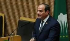 السيسي: إذا تطور الأمر في لبنان سيكون هناك مشكلة كبرى