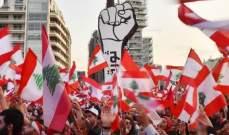 تجمع في ساحة ساسين للانطلاق بمسيرة الى جمعية المصارف