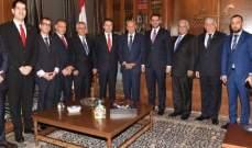 بري التقى وزير خارجية الباراغوي ورئيس بعثة البنك الدولي وأبرق معزياً بوفاة السبسي